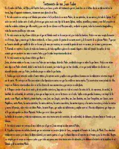 Testamento de san Juan Eudes