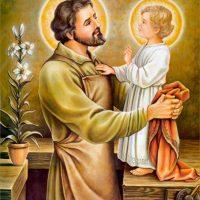 san José patrono de la Iglesia